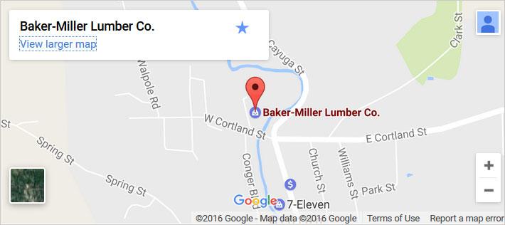 Baker-Miller Google Map. Click image for a larger version.